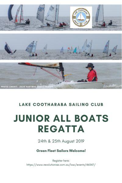 Junior Allboats regatta